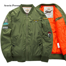 6XL Winter New Men's Pilot Jackets Casual Thick Warm Jacket Army Soldier Male Parkas Fashion Brand Clothing(China)