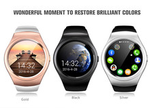 New Smart Watch V365 Full Circle Smartwatch Pedometer Fitness Tracker SIM TF Mobile Watch for IOS android Smart Watch android