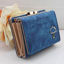 NEW Cute Clutch Purse with Umbrella Pattern PU Leather Wallet Short Handbags