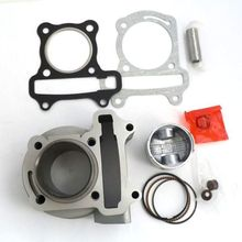 Scooter Parts Lifan Engine Gy6 139qmb 80cc 47mm Big Bore Cylinder W/ Piston, 4t, Chinese Scooter, Gasket, Pin, Rings, Clips
