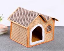 Spring and summer dogs house roof nest mouth stuffed spot provide pet supplies can unpick and wash wholesale free shipping HK79(China)