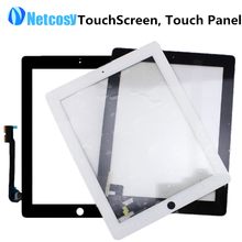 New Touch Screen Digitizer Front Touch Panel Glass Lens for iPad 2 3 4 TouchScreen Replacement Spare Parts TP Repair Accessories