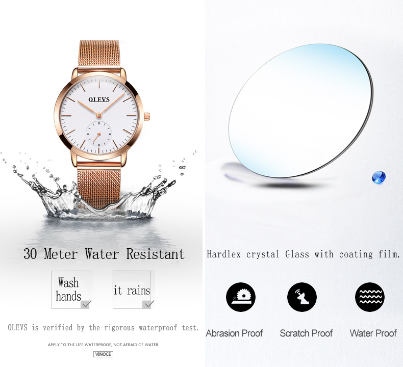 HTB1RfGfSpXXXXaeaXXXq6xXFXXXI - OLEVS Luxury Watches Women's Rose Gold Casual Quartz Watch Stainless Steel Watch Water Resistant Clock relojes hombre 2017 saat