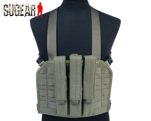 Airsoft Combat MP7 Tactical Magazine Chest Rig Military Tactical Paintball Nylon Molle Outdoor Hunting Shooting Vest w/Pouch<br><br>Aliexpress