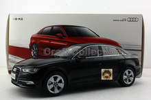 Black 1:18 Car Model Audi A3 2012 Sedan Alloy Toy Car Mini Car Miniature Automobile