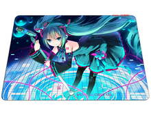 Hatsune Miku mouse pad Beautiful pad to mouse notbook computer mousepad Birthday present gaming padmouse gamer to mouse mats