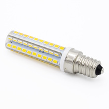 High Quality SMD 2835 Refrigerator Light AC 220V LED E14 80LEDs Candle bulb Replace 15W Compact Fluorescent Lamp Lighting