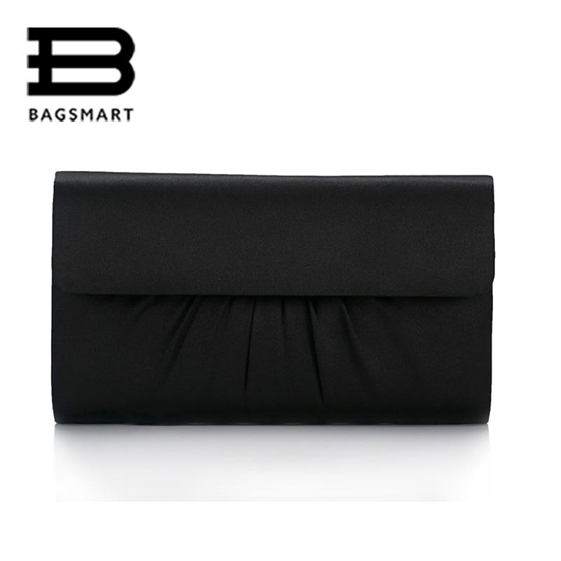 BAGSMART Luxury European And American Women Clutch Bag Simple Style Evening Bag Fashion Shoulder Envelope For Women Wedding<br><br>Aliexpress