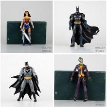 "DC Heroes Batman Joker Wonder Woman PVC Action Figure Kids Toys Gift for Children 7"" 18cm"