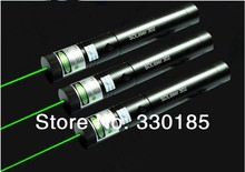 high power & 5w 5000mw 532nm green laser pointers lazer Flashlight adjustable Burning match,burn cigarettes+charger+gift hunting