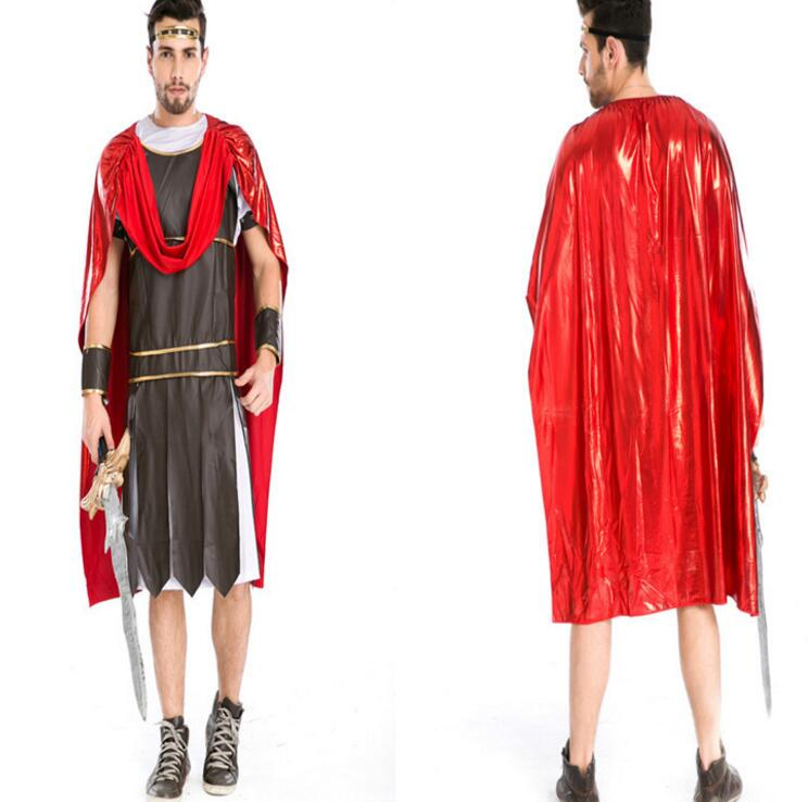 Ancient Roman Warrior Masquerade Party Men