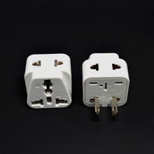 White 10pcs/lot Electrical Plugs splitter Travel Adaptor AU Converter to US/UK/EU Universal AU Plug For Australia New Zealand(China)