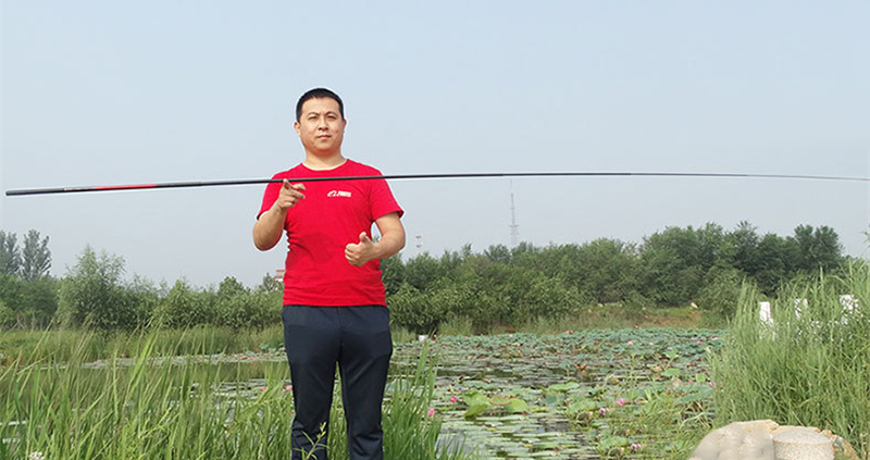High Strength Fiberglass Carp Fishing Rod Telescopic Hand Pole River Lake Stream Fishing Rod 2.1M2.7M3.6M4.5M5.4M6.3M7.2M (1)