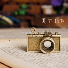 Charms & Pendants Alloy Metal Antique Bronze camera Pendant 10Pcs 39X29mm YD1145(China)