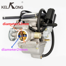 GY6 125cc 150ccKELKONG New Motorcycle Carburetor Carb For KEIHIN  Scooter ATV Go Kart Scooter Moped 125cc PD24J Motorcycle parts