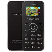 MELROSE M001 1.0 inch OLED Screen Single Core DetachableCard Phone with MP3 Playback Bluetooth dial FM Sound Recorder(China)
