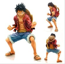 One Piece Luffy PVC Action Figure Fighting Luffy Figure One Piece Anime Collectible Model Toy Figurine One Piece Toys Juguetes