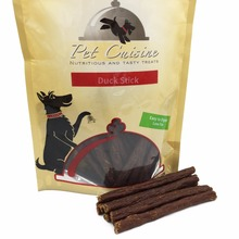 2016 New Pet Cuisine Dog Treats Puppy Chewy for Small Dogs,Real Duck Jerky Sticks, 250g(China)