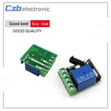 Buy DC12V 10A 1 Channel Receiver Wireless Relay RF 433MHz Remote Control Switch DIY Module for $1.66 in AliExpress store