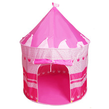 Kids Indoor Tent Play Games Castle Cubby Foldable Tipi Outdoor Garden Portable Relax Have Fun Toy House For Child Best Gifts