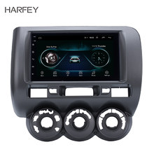 Harfey 2DIN Android 8.1 For HONDA Jazz(Manual AC,RHD) 2002 2003-2008 Car Multimedia player GPS Navi stereo Mirror Link Wifi USB(China)