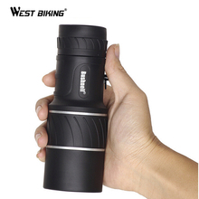 WEST BIKING 16 x 52 Double focusing Zoom Optic Lens Monocular Telescope Non Binoculars Optic Lens Day Multi Coating Lenses
