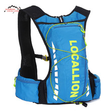 LOCAL LION Hydration Pack Hold Water Rucksack Mountain Backpack Bicycle Bag Bike Outdoor 8L Camping Hiking Cycling Bag
