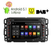 XTRONS 7 inch Android 5.1 2 din Car DVD Player Radio DAB+GPS for Chevrolet Suburban Traverse/Buick Enclave/GMC Sierra/ HUMMER H2