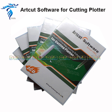 Free Shipping Vinyl Sticker Plotter Machine Tenth Plotter Machie Software Artcut 2009 Vinyl Cutter plotter cutting plotter(China)