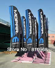 High Quality!! Beach Flag, Outdoor Feather Flag, Flagpole Banner stand (free printing)