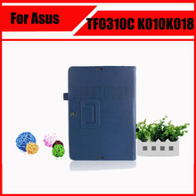 3 in 1 Top Lychee PU Leather Case with Stand For Asus Transformer Pad TF103C TF103CG TF0310C K010 K018 + Screen Film + Stylus