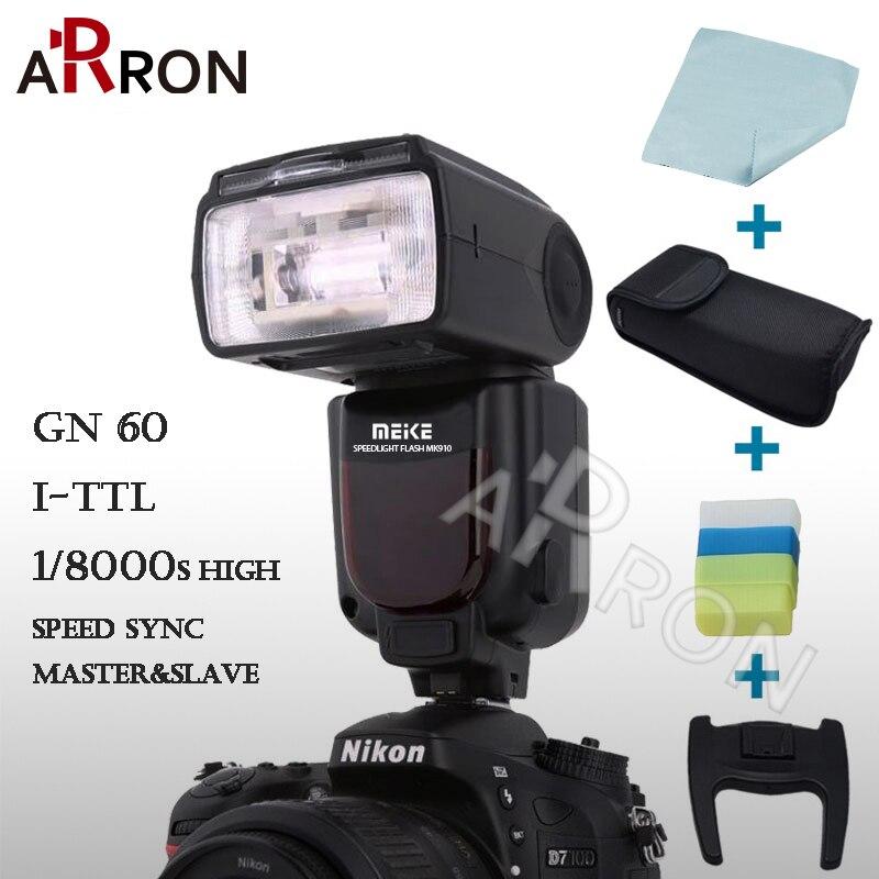 Meike MK-910 i-TTL Flash Speedlite 1/8000s for Nikon SB-900 D4S D800 D3000 D3200 D5300 D7100 DSLR mk910 Meike MK 910+7 gift<br><br>Aliexpress