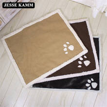 JESSE KAMM All Seasons Hot Sale Super Soft Dog Cat House Nest Pet Bed Cushion For Dogs Warm Litter Puppy Cozy Kennel Mat News