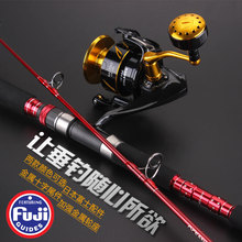Lurekiller Full Fuji Parts Jigging rod boat rod 1.58M single rod and 1.80m 2pcs rod spinning and casting rod