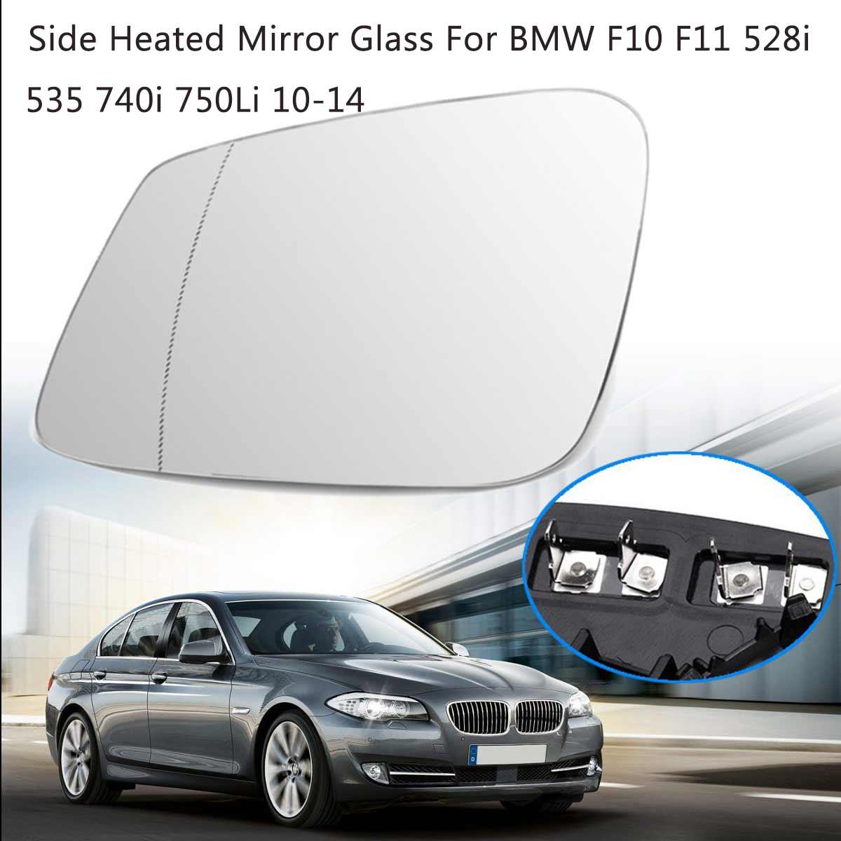 RIGHT SIDE BMW 5//6//7//GT F01//F06////F10//E60 Auto DIM HEATED MIRROR GLASS USA FRAME