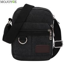 2017 Fashion Vintage Classic Canvas Messenger Bags Mini Casual Style Shoulder bag Messenger Bag for boys Mini Bag Men Satchel