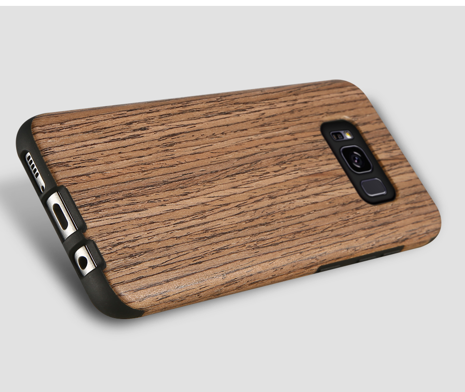 wood pattern soft tpu case for samsung s8 s8 plus (17)