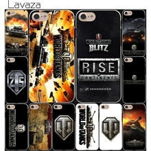 Lavaza world of tanks Game Hard White Coque Shell Phone Case for Apple iPhone 8 7 6 6S Plus 5 5S SE 5C 4S X 10 Cove