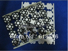 free shipping 100pcsx 1W 3W 5W High Power LED PCB Aluminum Star base plate Circuit board DIY