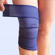 1 Pc elastic bandage tape sport knee support strap knee pads protector band for joelheira ankle leg wrist wrap(China)