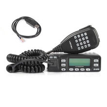 LEIXEN VV-898 Dual-Band Dual Display Transceiver VHF/UHF 136-174/400-470MHz Kit 10W Car Mobile Vehicle Radio Programming Cable(China)