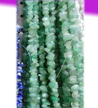 Fashion DIY Making Loose Beads for Bracelet Necklace Jewelry    Natural Green Aventurine Quartz Stone Chips Beads
