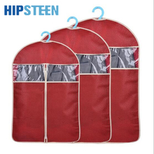 HIPSTEEN Three Sizes Suit Cover Dustproof Skirt Dress Garment Storage Protector Coat Clothes Shirt Travel Storage Bag Carrier(China)