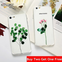 Buy KISSCASE Flower Patterned Case iPhone 6 6s 5 5s se Cover Soft Silicone Protect Cases iPhone 7 8 Plus X 6s 5s Phone Coque for $2.99 in AliExpress store