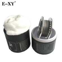 E-XY Atomizer Coil DIY  Wire clapton tiger quad twisted alien fused clapton flat twisted mix twisted wire for RDA
