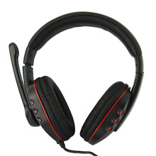 New Arrival Gaming Headset Headphone Stereo Surround Sound Headband Support USB Aux for PC Laptop PS3/PS4/Xbox(China)