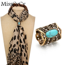 MissCyCy Cameo Scarf Clip Vintage Brooch Hollow Butterfly Rhinestone Brooches Women Metal Brosh(China)