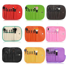 7 Pcs Makeup Brushes Set Make up Brush Cosmetic Set With Makeup Brushes Case Bag Makeup Tools And Accessories