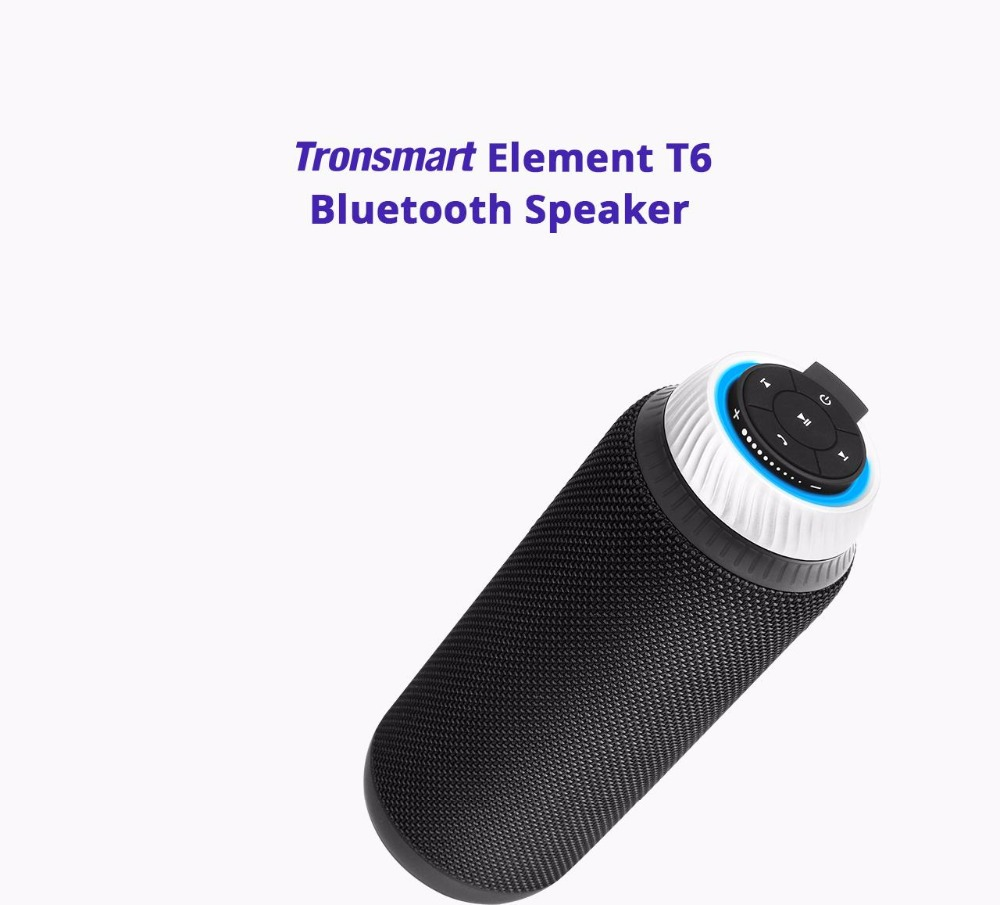 Tronsmart Element T6 Mini Bluetooth Speaker Portable Wireless Speaker with 360 Degree Stereo Sound for IOS Android Xiaomi Player