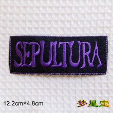 BOB sepultura HIM PUNK ROCK BAND MUSIC LOGO EMBROIDERED IRON ON PATCH FOR T SHIRT JACKET HAT ~DIY accessory(China)